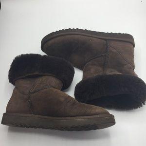 UGG Australia Classic Short Suede Sheepskin Boots